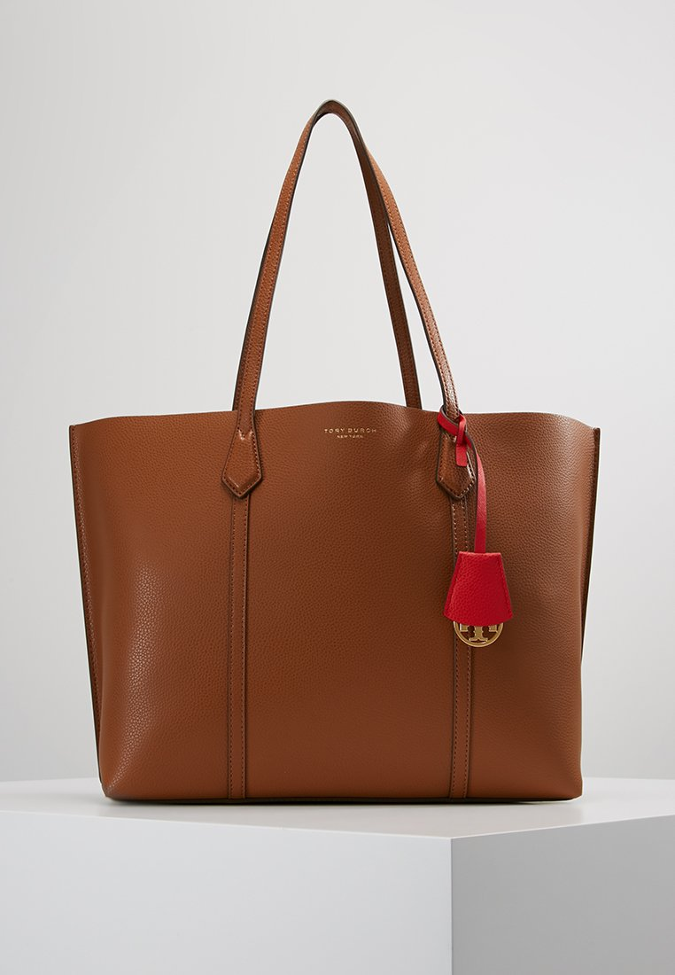 Tory Burch - PERRY TRIPLE COMPARTMENT TOTE - Bolso shopping - light umber
