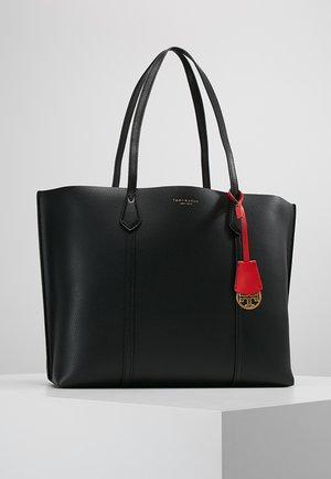PERRY TRIPLE COMPARTMENT TOTE - Käsilaukku - black