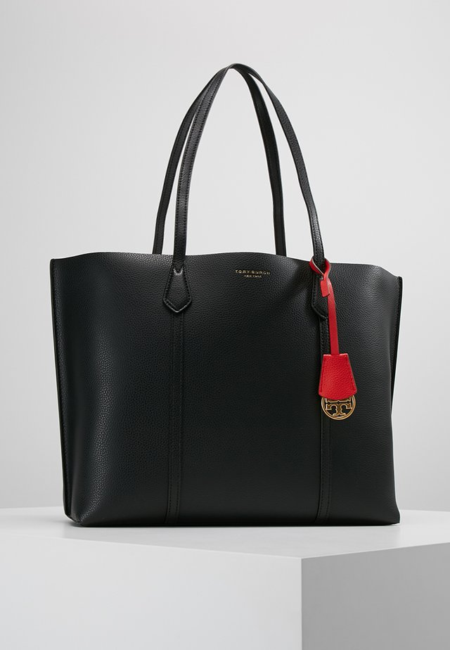 PERRY TRIPLE COMPARTMENT TOTE - Shoppingväska - black