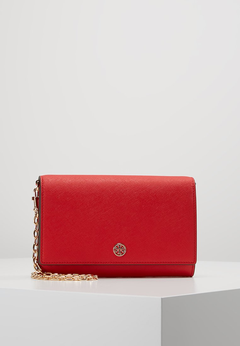 Tory Burch - ROBINSON CHAIN WALLET - Across body bag - brilliant red