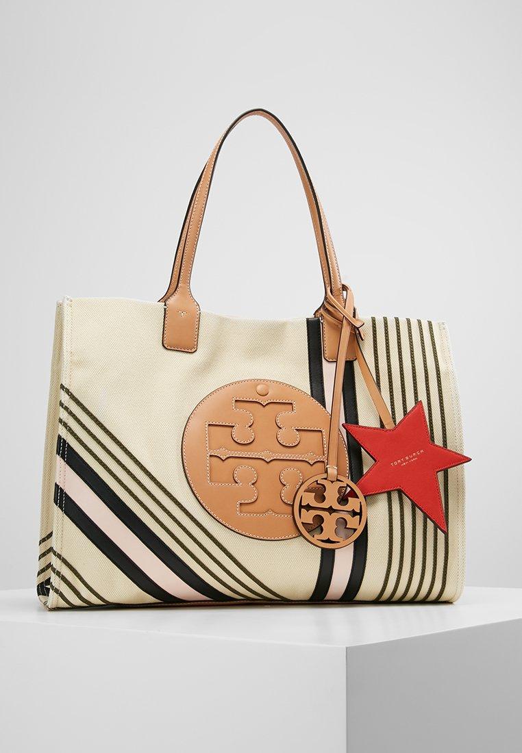 Tory Burch - ELLA PRINTED TOTE - Shopping bags - ivory etoile