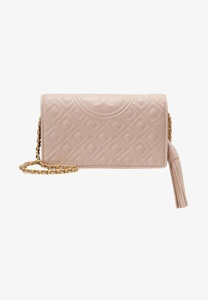 FLEMING FLAT  CROSSBODY - Olkalaukku - shell pink