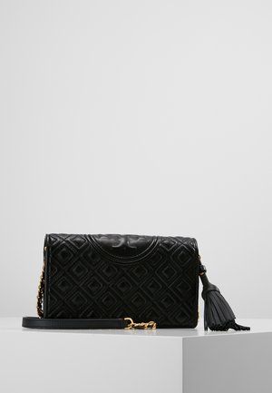 FLEMING FLAT  CROSSBODY - Across body bag - black