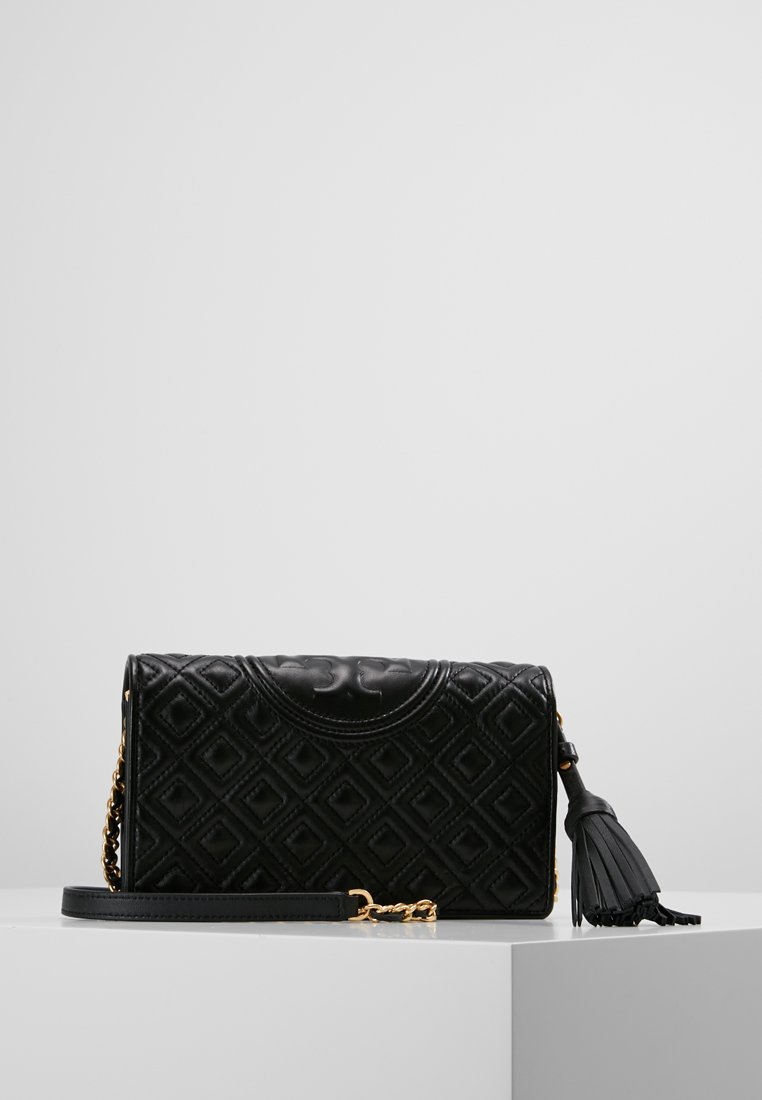 Tory Burch - FLEMING FLAT  CROSSBODY - Borsa a tracolla - black