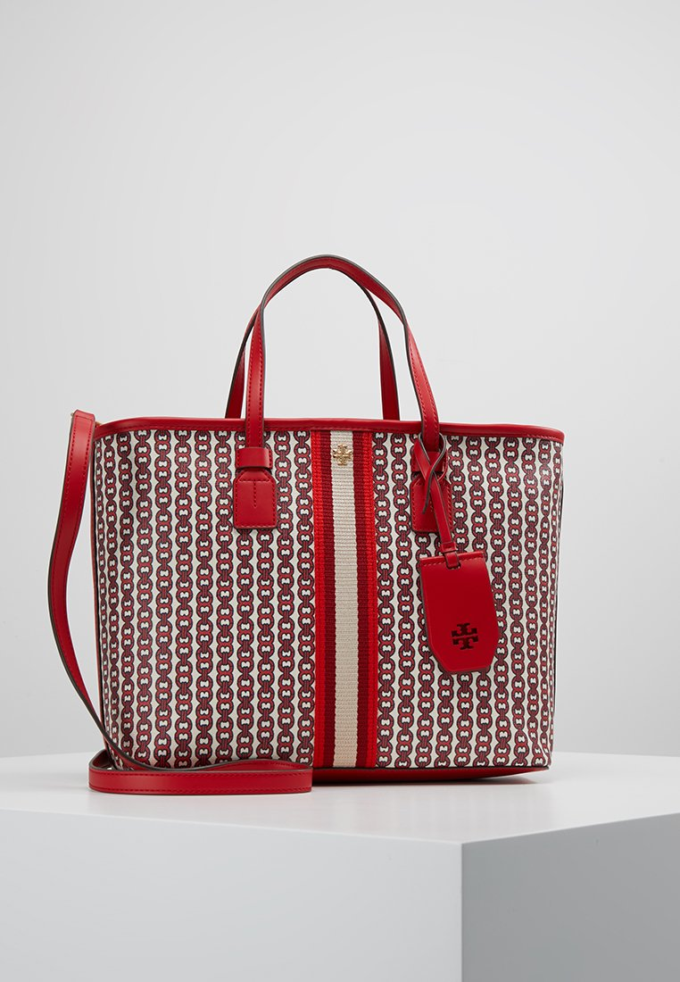Tory Burch - GEMINI LINK SMALL TOTE - Borsa a mano - liberty red