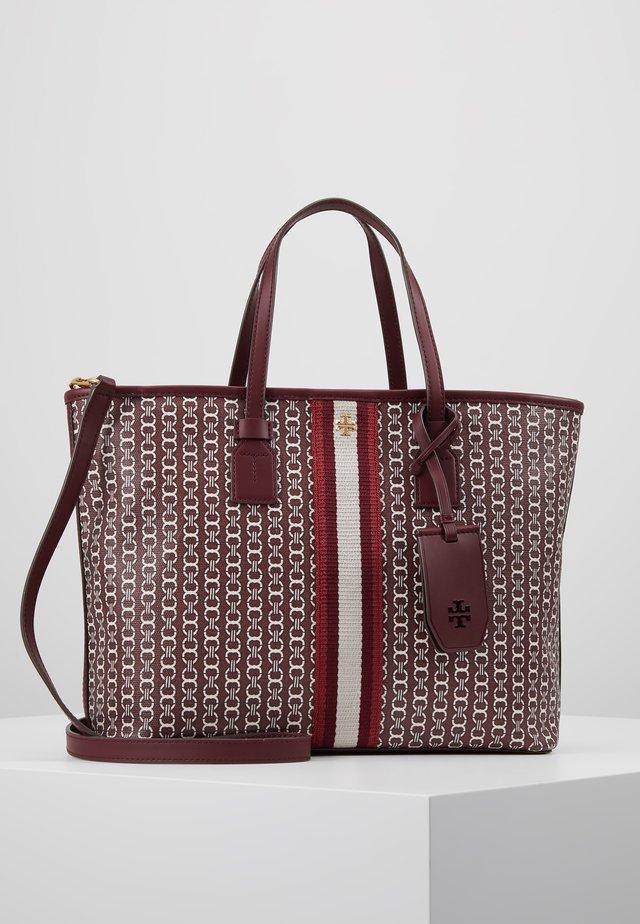 GEMINI LINK SMALL TOTE - Handbag - royal burgundy