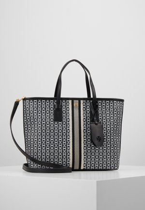 GEMINI LINK SMALL TOTE - Handbag - black