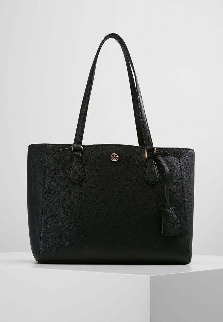 Tory Burch - ROBINSON SMALL TOTE - Handbag - black