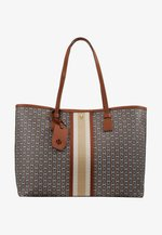 GEMINI LINK TOTE - Shopping Bag - light umber gemini link
