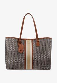 Tory Burch - GEMINI LINK TOTE - Shopping bag - light umber gemini link - 5