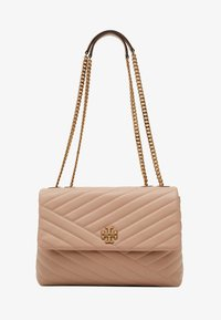 Tory Burch - KIRA CHEVRON CONVERTIBLE SHOULDER BAG - Handtas - devon sand - 4