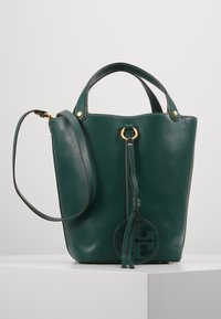 Tory Burch - MILLER BUCKET BAG - Handtas - malachite - 0