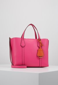 Tory Burch - PERRY SMALL TRIPLE COMPARTMENT TOTE - Bolso de mano - crazy pink - 0