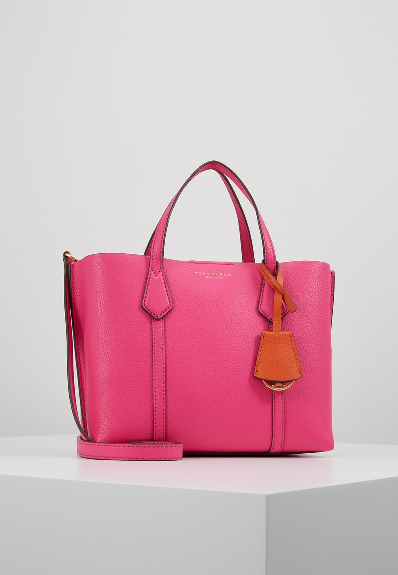 Tory Burch - PERRY SMALL TRIPLE COMPARTMENT TOTE - Bolso de mano - crazy pink