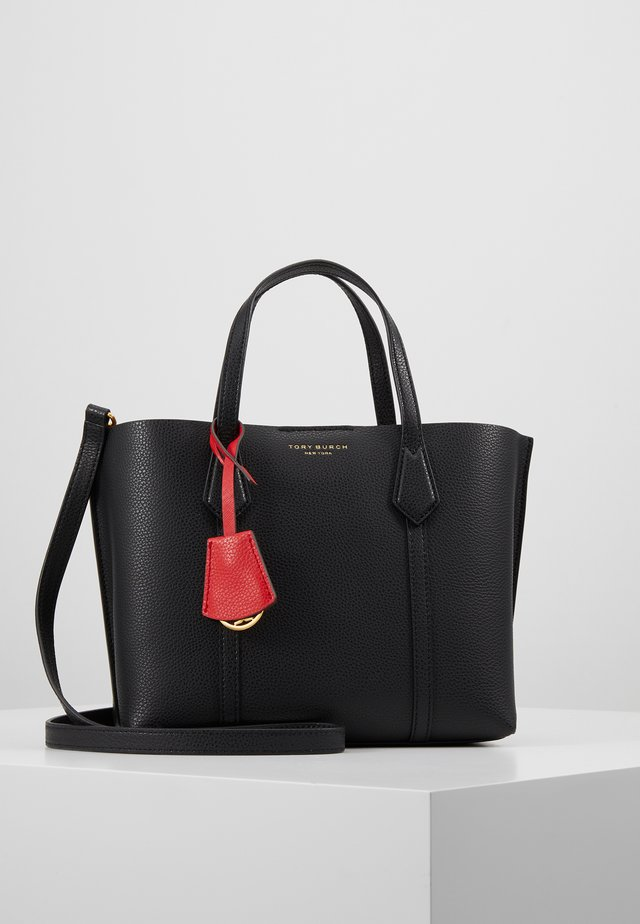 PERRY SMALL TRIPLE COMPARTMENT TOTE - Handtasche - black