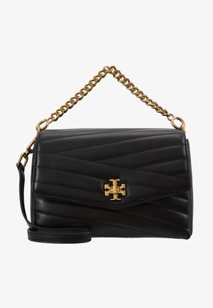 KIRA CHEVRON CROSSBODY - Bolso de mano - black