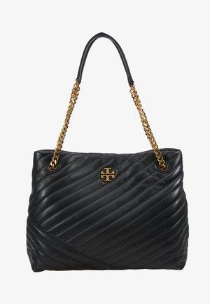 KIRA CHEVRON TOTE - Handbag - black