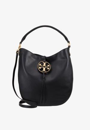 MILLER METAL SLOUCHY - Handtasche - black