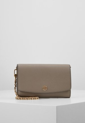 ROBINSON CHAIN WALLET - Clutch - gray heron