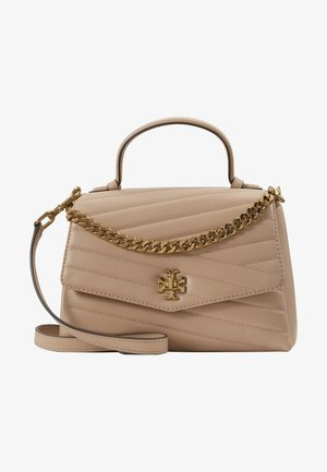 KIRA CHEVRON TOP HANDLE SATCHEL - Sac à main - devon sand