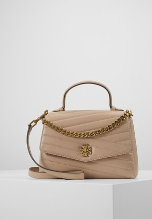 KIRA CHEVRON TOP HANDLE SATCHEL - Handtas - devon sand