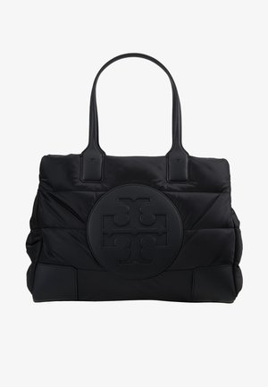 ELLA PUFFY QUILTED MINI TOTE - Handbag - black