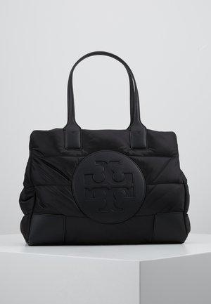 ELLA PUFFY QUILTED MINI TOTE - Handbag - black
