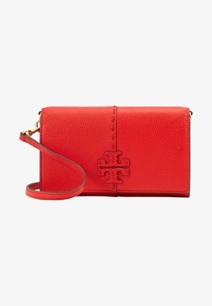 MCGRAW WALLET CROSSBODY - Borsa a tracolla - brilliant red