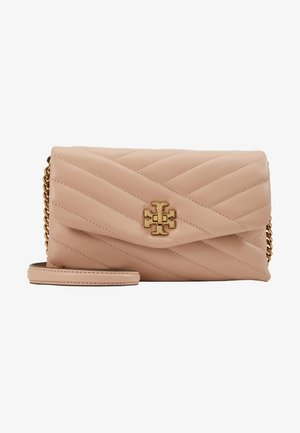 KIRA CHEVRON CHAIN WALLET - Schoudertas - devon sand