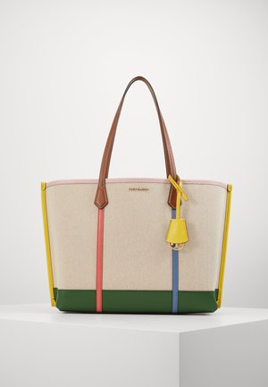 PERRY TRIPLE COMPARTMENT TOTE - Torba na zakupy - natural