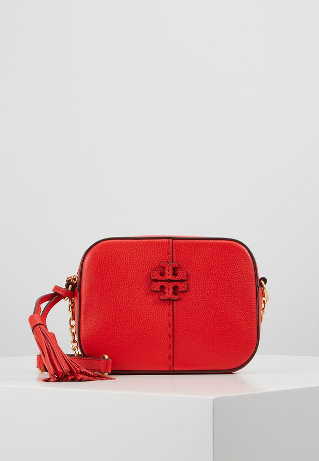 MCGRAW BAG - Across body bag - brilliant red