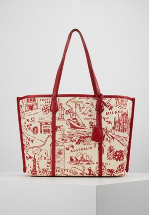 PERRY PRINTED  - Shopper - red destination
