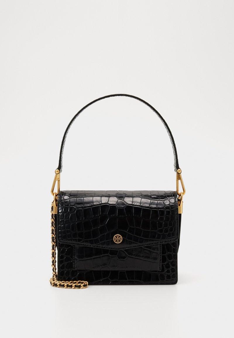 Tory Burch - ROBINSON CONVERTIBLE SHOULDER BAG - Handbag - black