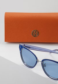 Tory Burch - Solbriller - blue/shiny silver-coloured - 3