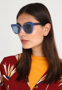 Tory Burch - Solbriller - blue/shiny silver-coloured - 1