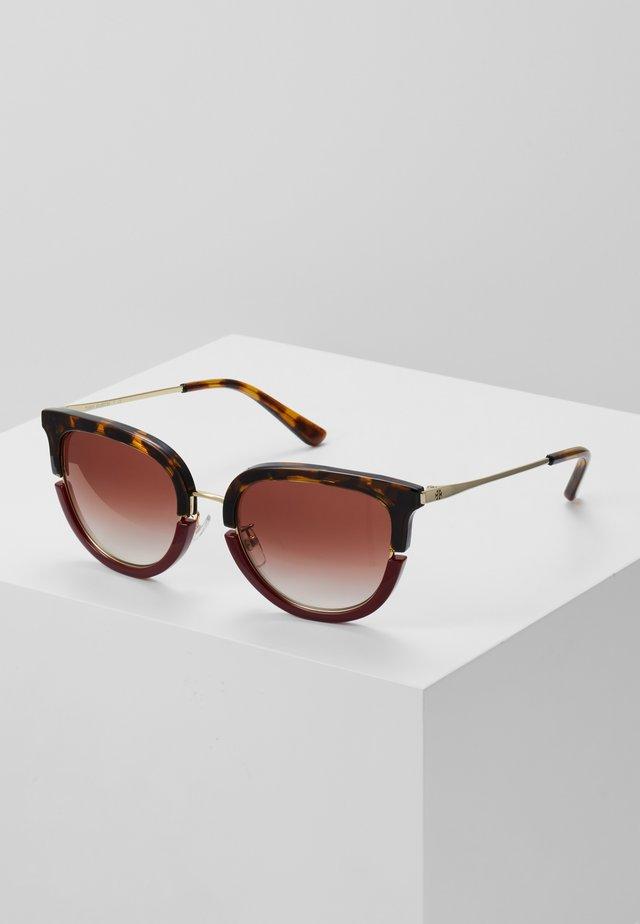 Sonnenbrille - dark tortoise/bordeaux