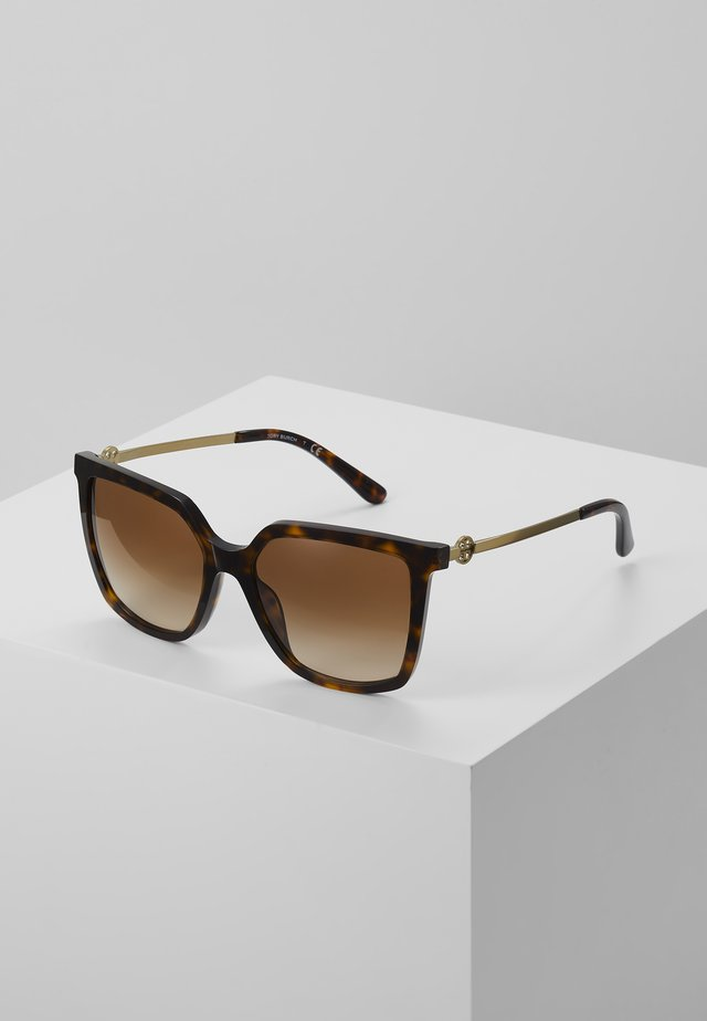 Sunglasses - mottled brown