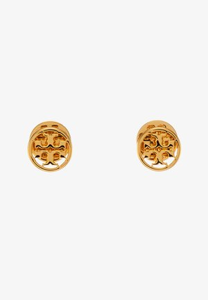 LOGO CIRCLE EARRING - Orecchini - gold-coloured