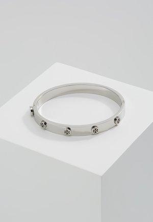 LOGO STUD HINGE BRACELET - Pulsera - silver