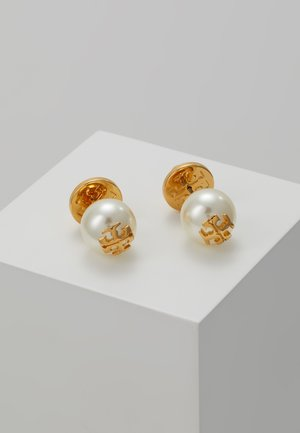 STUD EARRING - Korvakorut - ivory/tory gold-coloured
