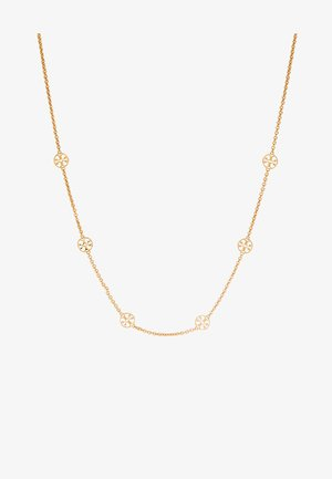 DELICATE LOGO NECKLACE - Collana - gold-coloured