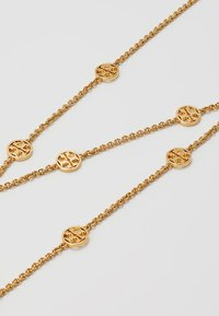 Tory Burch - DELICATE LOGO NECKLACE - Náhrdelník - gold-coloured - 4