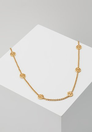 DELICATE LOGO NECKLACE - Náhrdelník - gold-coloured