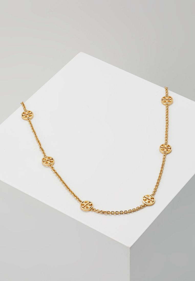 Tory Burch - DELICATE LOGO NECKLACE - Náhrdelník - gold-coloured