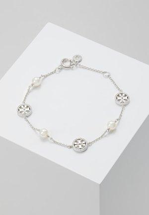 DELICATE LOGO BRACELET - Bracciale - silver-coloured