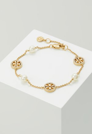 DELICATE LOGO BRACELET - Armbånd - gold-coloured