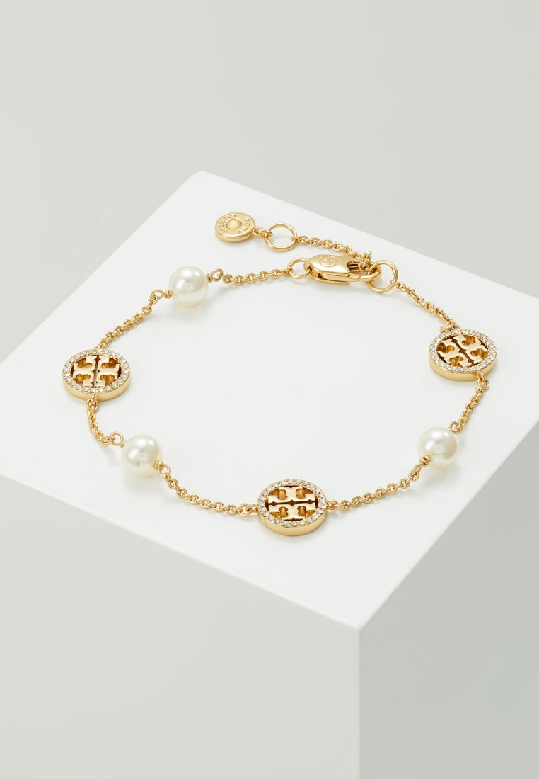 Tory Burch - DELICATE LOGO BRACELET - Armband - gold-coloured