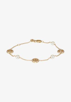 DELICATE LOGO BRACELET - Armband - gold-coloured