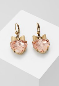 Tory Burch - HEART EARRING - Pendientes - pale papaya - 0
