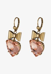 Tory Burch - HEART EARRING - Pendientes - pale papaya - 3